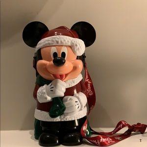 Disney Christmas Mickey Mouse Popcorn Bucket